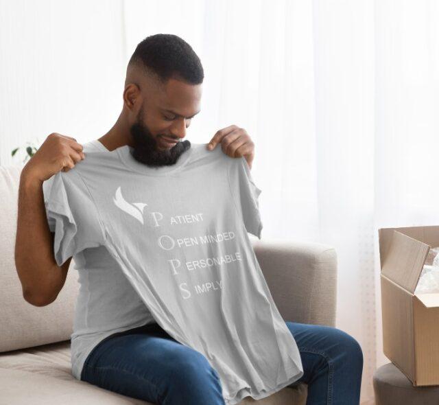 Eagle Pops Tshirts-Grey