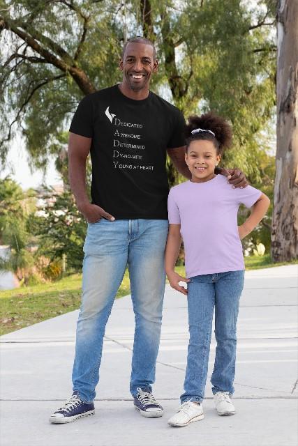 Eagle Daddy Tshirts-Black