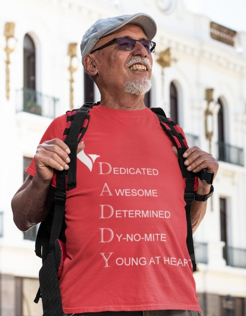 Eagle Daddy Tshirts-red