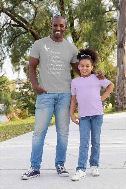Eagle FatherTshirt Grey